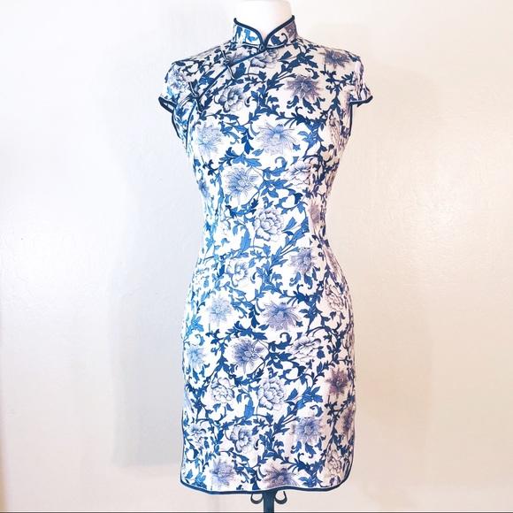 36600fc6c83e Dresses | Asian Wiggle Dress Silk Size M | Poshmark